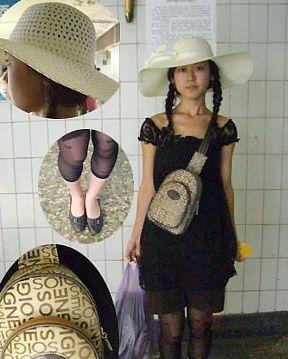 8月搭配抢先看 抓拍地铁美女装扮