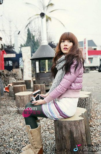 韩国俏丽学生装